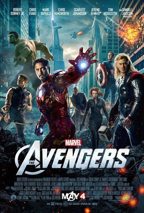 The Avengers Spoiler Alert & Movie Review: #GFVT Spoiler Alert