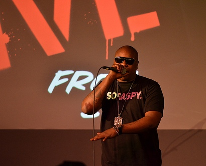 Jadakiss Performs At The Apple Store In NYC