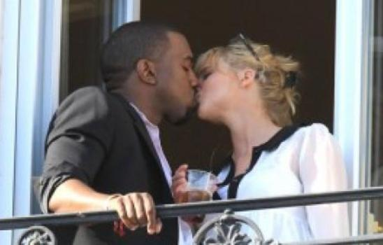 Kanye West Mystery Blonde Hook-up Revealed