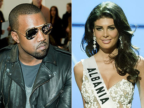 Kanye West Dating Miss Universe ??