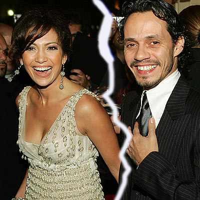 Jennifer Lopez & Marc Anthony Announce Divorce