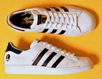 "Adidas & BAPE ""Originals Superstar 80's B-Sides Editions"": GoodFellaz ""Sneaker Pick Of The Month"""