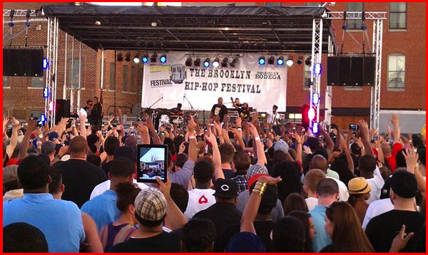 "Q-Tip, Busta & Kanye Make The ""Brooklyn Hip-Hop Festival"" A Legendary Night"