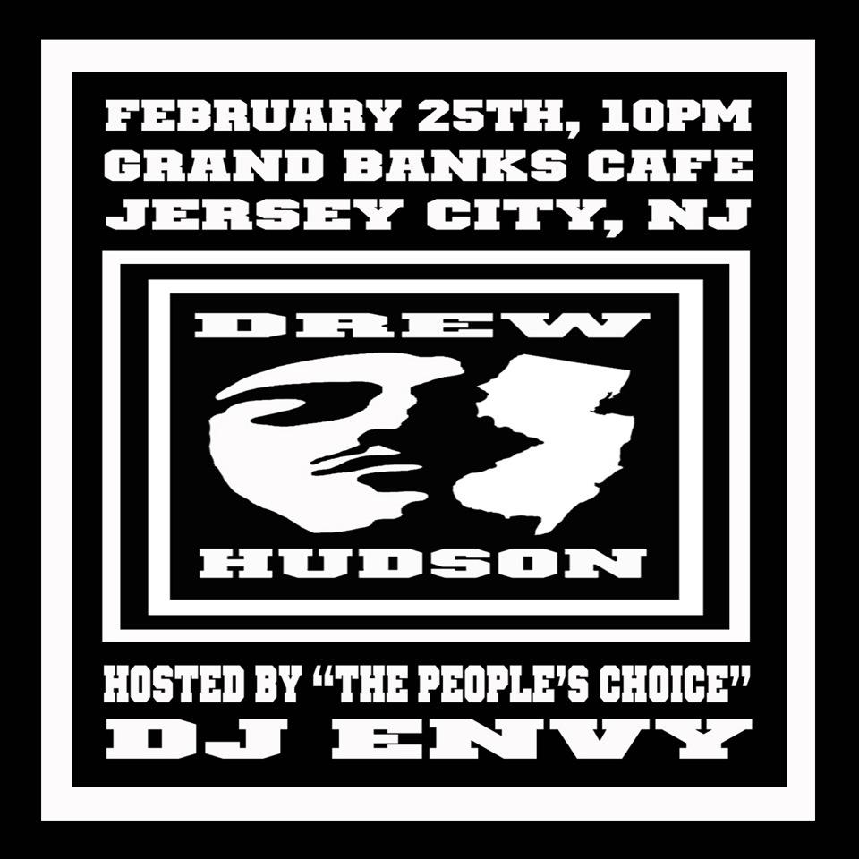 "DREW HUDSON LIVE @ GRAND BANKS CAFE: FEB 25TH #GFTV ""FEATURE EVENT OF THE WEEK"""
