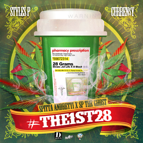 "Artwork Revealed For Currensy & Styles P ""The1st28"" Collaborative EP"