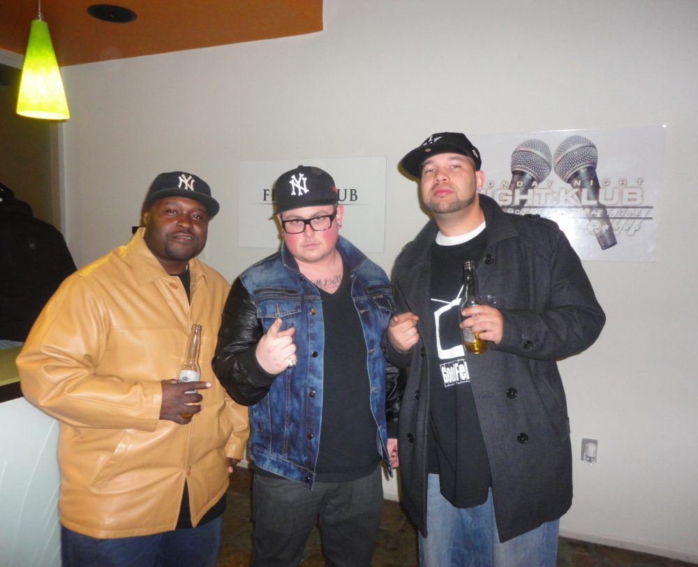 Iron Solomon Takes Over Fight Klub For Listening Session On GoodFellaz TV