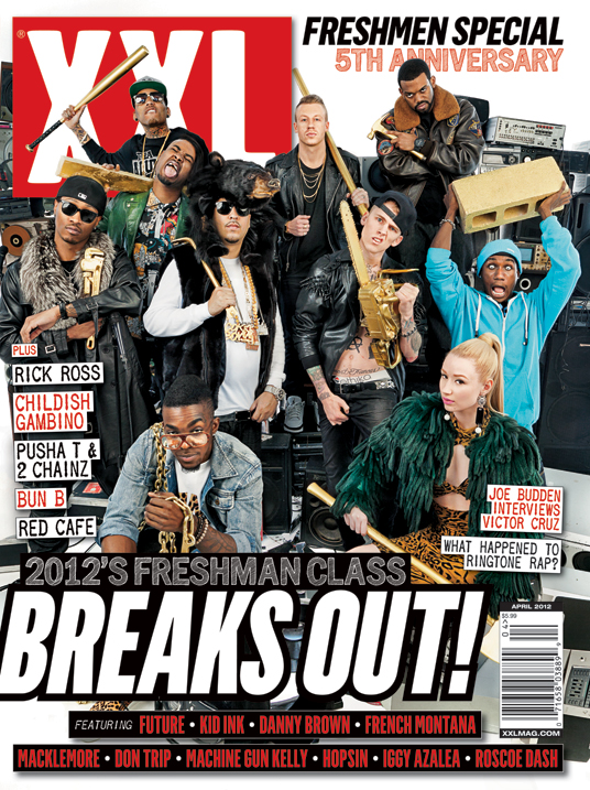 "XXL ""Freshman Class"" Of 2012 Revealed. Hot Or Not??"