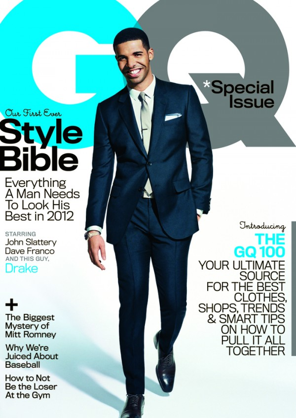Drake On The Cover Of GQ Magazine, Talks Women, New Rappers & Inspiration