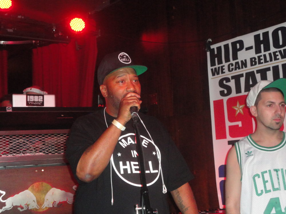 "Statik Selektah &Termanology Performs @ ""2012″ Album Release Party In NYC"