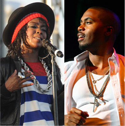 "Nas & Lauryn Hill Dating ?! #GFTV ""Word-On-The-Street"""