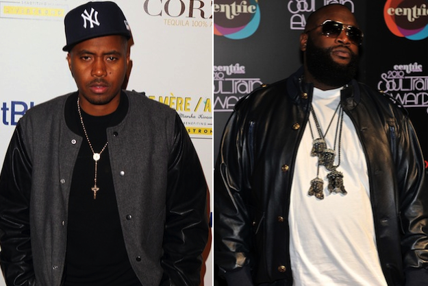 "Listen To New Nas ""Accident Murderers"" F/ Rick Ross On GoodFellaz TV"