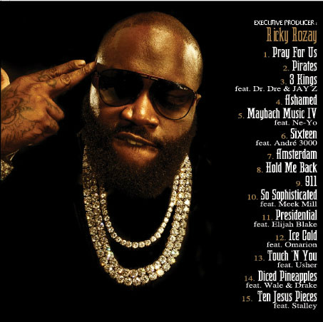 "Rick Ross ""God Forgives, I Don't"" Track-list & Artwork Revealed"