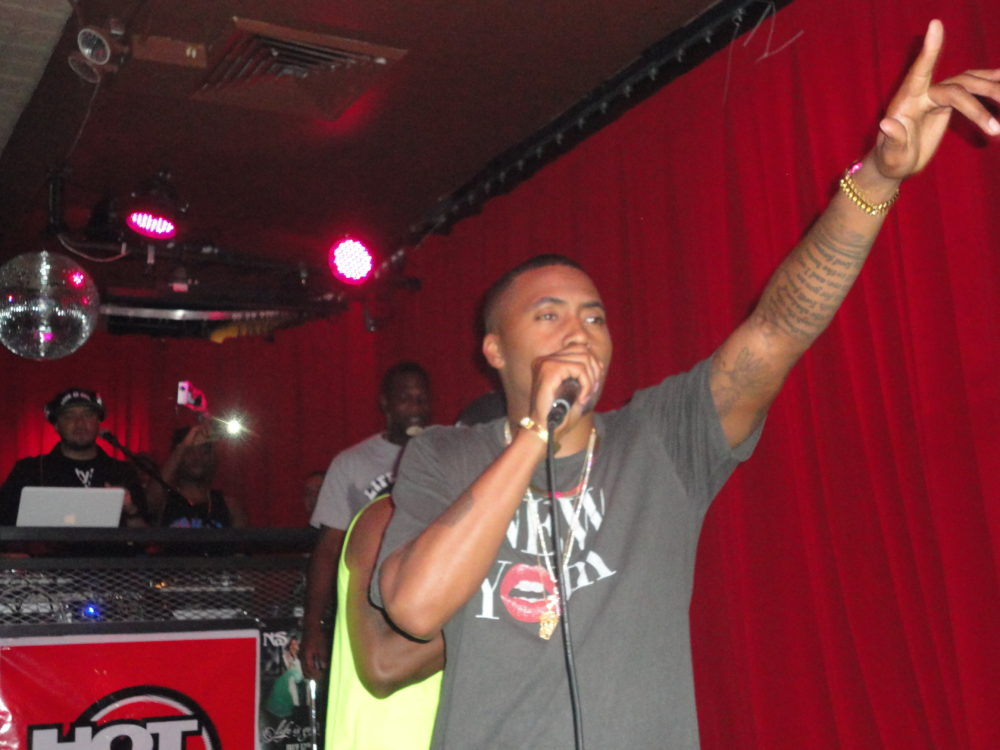 Nas Performs At Secret Show In NYC