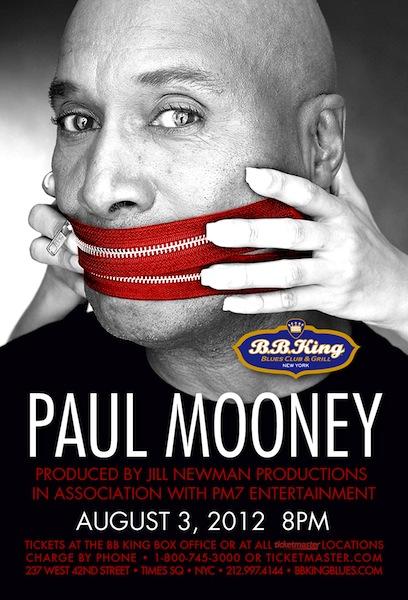 Paul Mooney Performs @ B.B. Kings In NYC Friday August 3rd