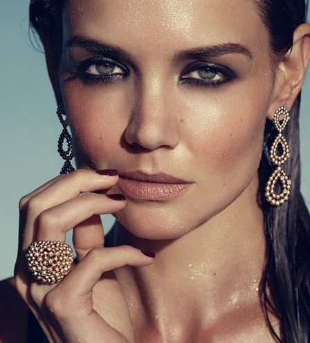 Katie Holmes To Be The 'Face' Of Bobbi Brown Cosmetics #WatchMeBlush #Fashion411