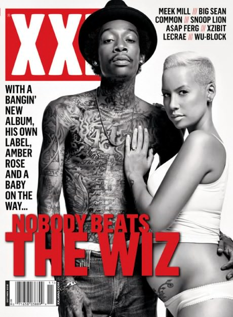 Check Out Wiz Khalifa & Amber Rose On The Cover Of The New XXL Magazine