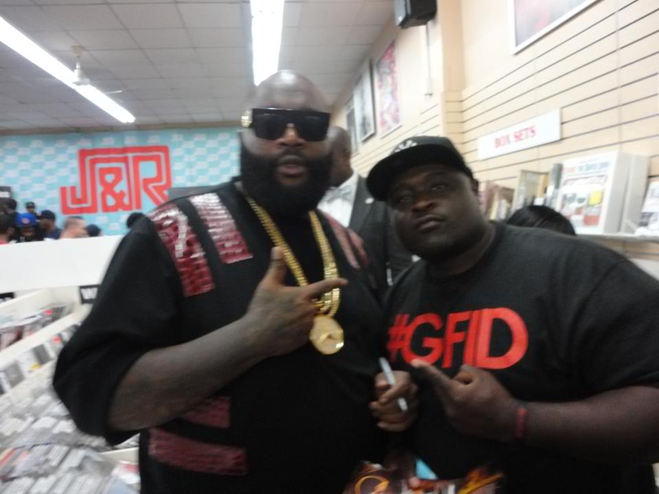 Rick Ross Receives Gold Plaque From Def Jam Records During Recent Show