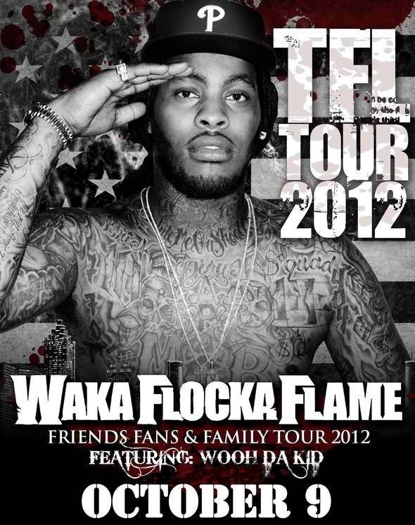 "Waka Flocka Flame Performs Oct. 9th @ Irving Plaza In NYC #GFTV ""Feature Event of the Week"""