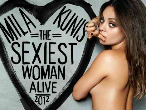 "Mila Kunis Named ""Sexiest Woman Alive"", Check Out Her Sexiest Pics Ever On GoodFellaz TV"