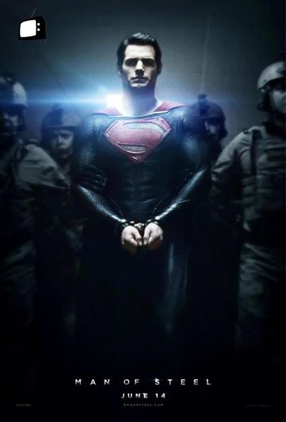 "Check Out The New Superman ""Man Of Steel"" Movie Poster On GoodFellaz TV"