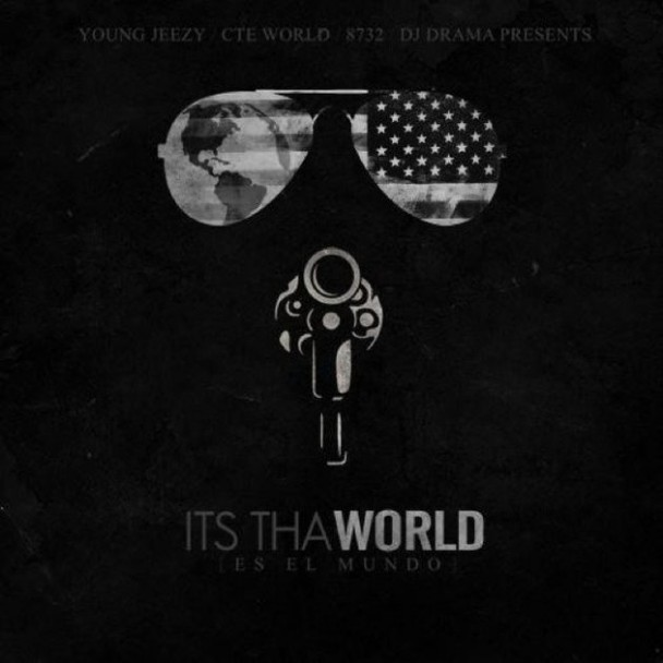 "Young Jeezy 'Corporate Thuggin' At Atlantic Records, DOWNLOAD His New Mixtape ""It's Tha World"" On GoodFellaz TV"