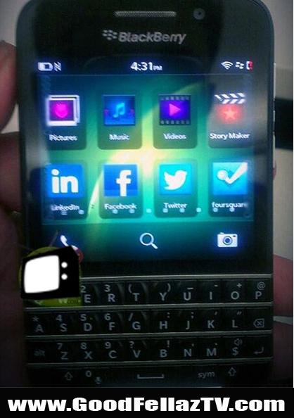 Is BlackBerry Back?! Check Out The NEW BlackBerry X10 'Sneak Peek' On GoodFellaz TV