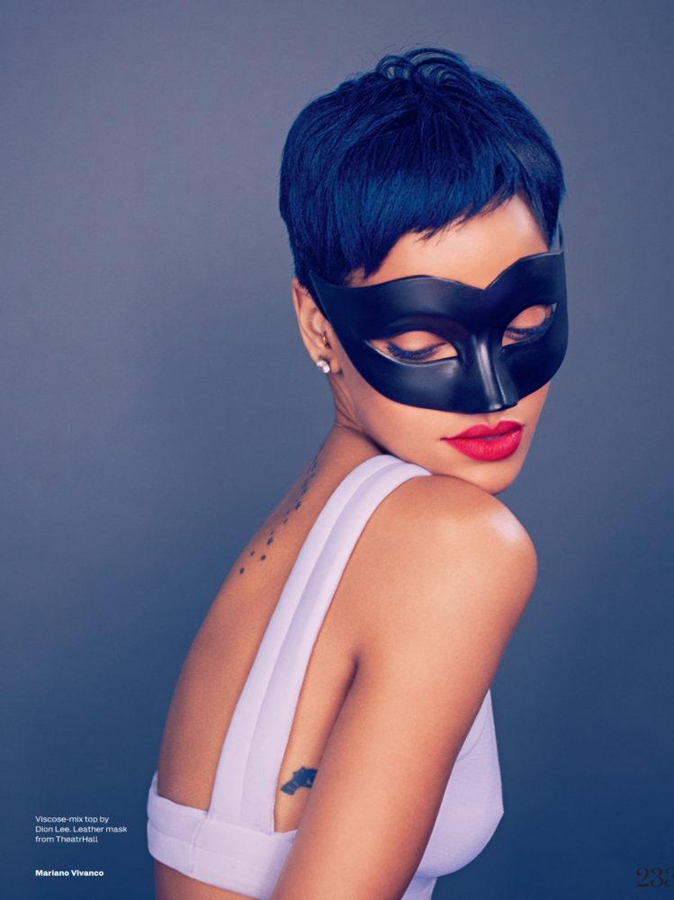 Rihanna mask