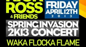 "Check Out The ""Rick Ross & Friends"" Concert April 12, 2013 #GFTV #Events"