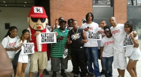 The GoodFellaz Hang With Yo Gotti At Rucker Park & 106 & Park