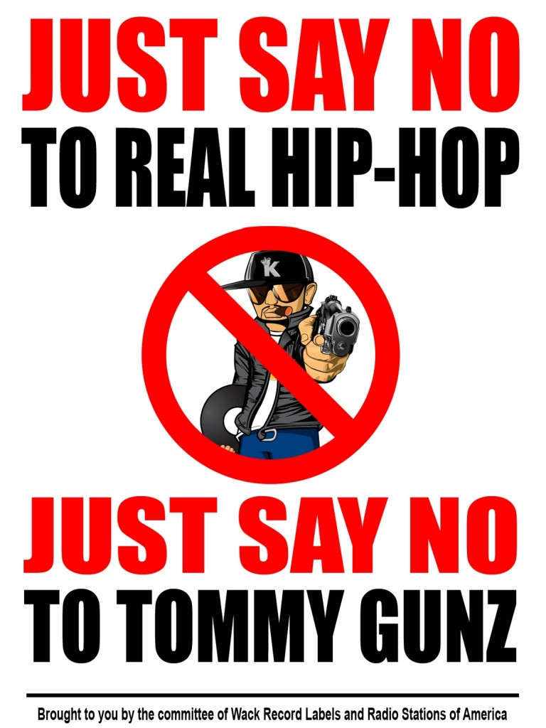 TOMMY GUNZ JUST SAY NO POSTER FINAL