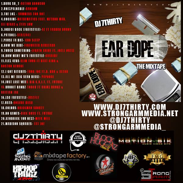 Ear Dope DJ7Thirty Back Cover