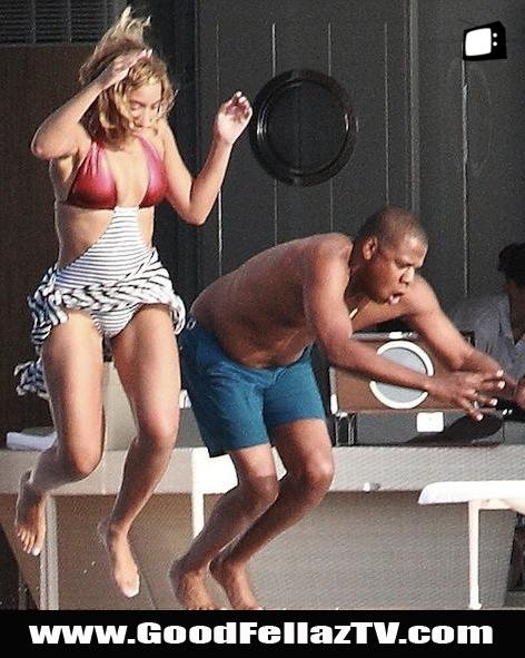 Jay Z diving