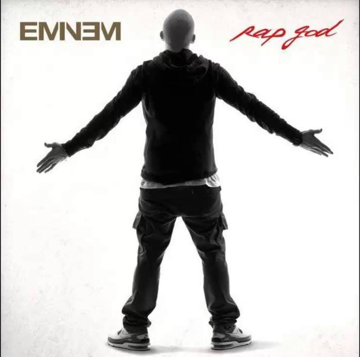 EMINEM RAP GOD ARTWORK