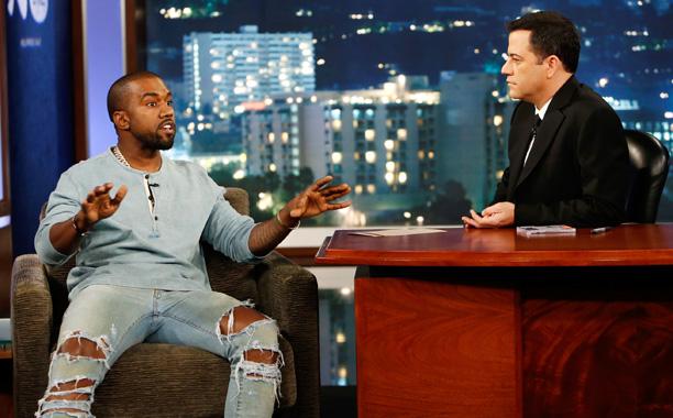 Kanye-Kimmel