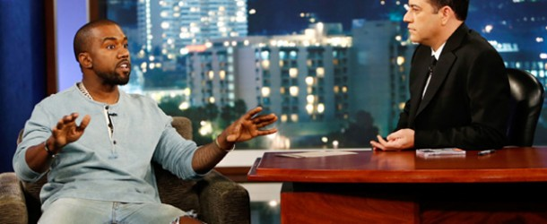 WATCH: Kanye West Interview On The 'Jimmy Kimmel Live' Show