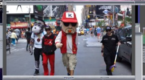 "Check Out Lil Gunz In The New Lil Dawg ""Get At Me"" Video, Plus Check Out Photos From The Times Square Video Shoot"