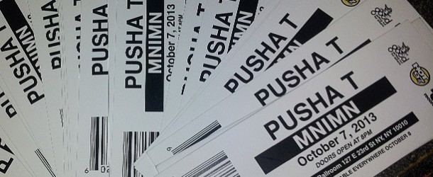 CONTEST: Win Tickets For The Pusha T Album Release NYC Concert On Oct. 7th On GoodFellaz TV