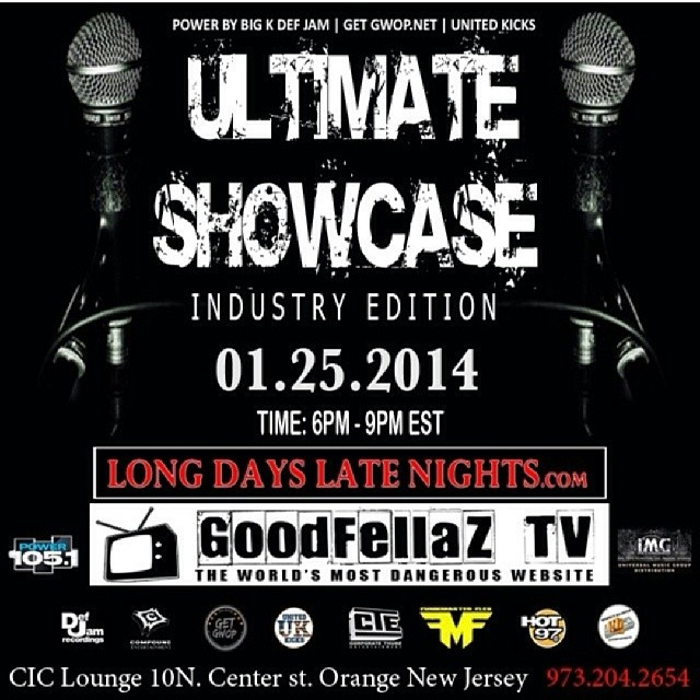 Ultimate Showcase Flyer