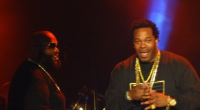 "Busta Rhymes Calls Rick Ross ""One Of His Favorite MC's Of All Time"" During Concert In NYC"