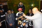"August Alsina Receives Gold Plaque During Listening Session In NYC, Debut Album ""Testimony"" IN STORES April 15th"