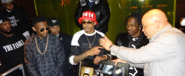 "August Alsina Receives Gold Plaque During Listening Session In NYC, Debut Album ""Testimony"" IN STORES NOW!"