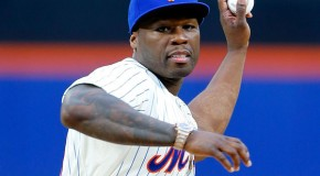 EPIC FAIL: 50 Cents Throws Out 1st Pitch During NY Mets Game