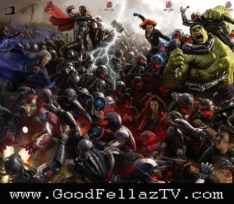 AVENGERS COMPLETE POSTER