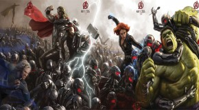 "New ""Avengers: Age of Ultron"" Promotional Artwork Released, What New Characters Will Join The Team?!"