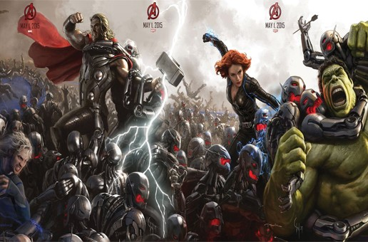 """New """"Avengers: Age of Ultron"""" Promotional Artwork Released, What New Characters Will Join The Team?!"""