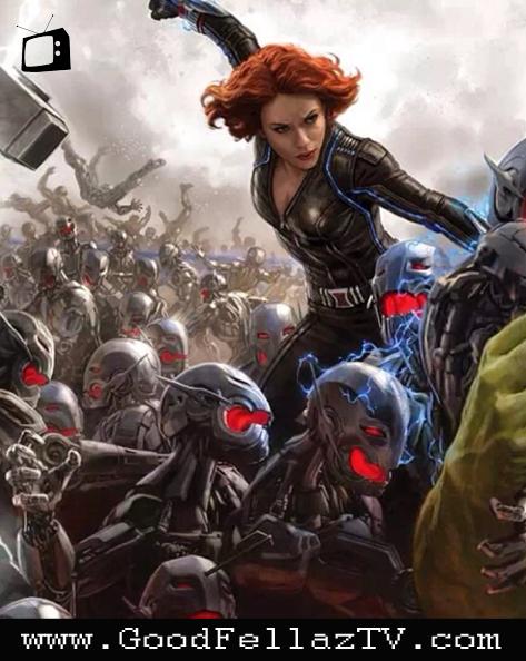 Black Widow avengers poster
