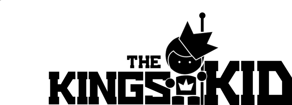 THE KINGS KID LOGO WITH WHITE BACKROUND