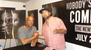 "PHOTOS: The GoodFellaz Hang With Common In NYC, New Album ""Nobody's Smiling"" IN STORES NOW!!"