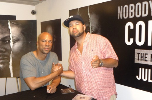 """PHOTOS: The GoodFellaz Hang With Common In NYC, New Album """"Nobody's Smiling"""" IN STORES NOW!!"""