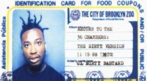 "DOWNLOAD: #Throwback: Ol' Dirty Bastard ""Return To The 36 Chambers"" Album On GoodFellaz TV"